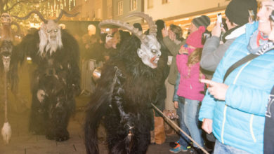 Photo of Krampuslauf in Bregenz 2016