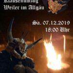 Klausenumzug Weiler im Allgäu