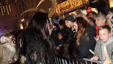 Photo of Krampuslauf in Bregenz 2019